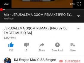 Move by Dj Emgee muziq SA House original mix