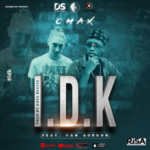 Cmax – I don't know (Feat. Van Gordon) official cover art.