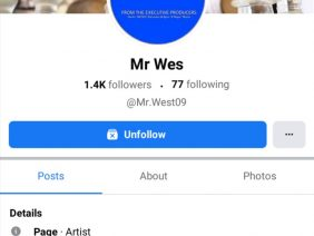 ATTENTION: Search @Mr.West09 on Facebook!!! This guy is truly The Voice of the Streets (Good Music).
