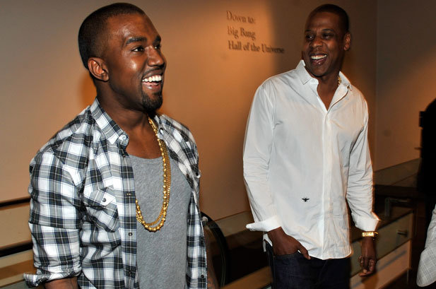 Kanye West Mad At Jay Z For Not Coming To See Him After Kim's Robbery [Watch] 1167709 Jay Z Kanye West Watch the Throne 617x409