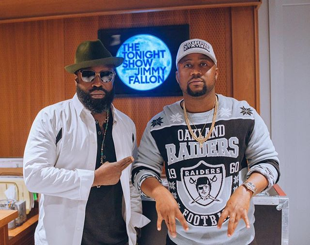 Cassper Nyovest Hits The Studio With Legendary MC Black Thought 12965113 580322755461080 552135667 n