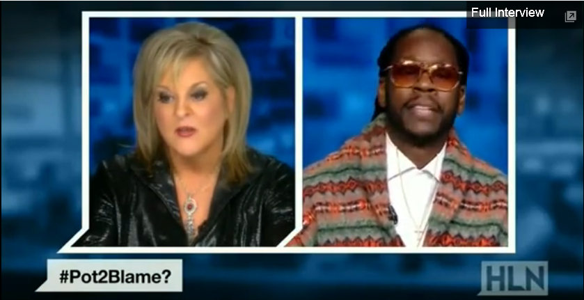 2 CHAINZ ARGUES LEGALIZATION OF WEED ON NATIONAL TV WITH REPORTER 2 chainz