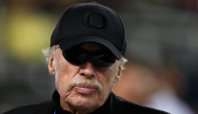 Watch Nike Co-Founder Phil Knight Talk About Nike's Legacy & Its Endorsement Deal With MJ 4614579161