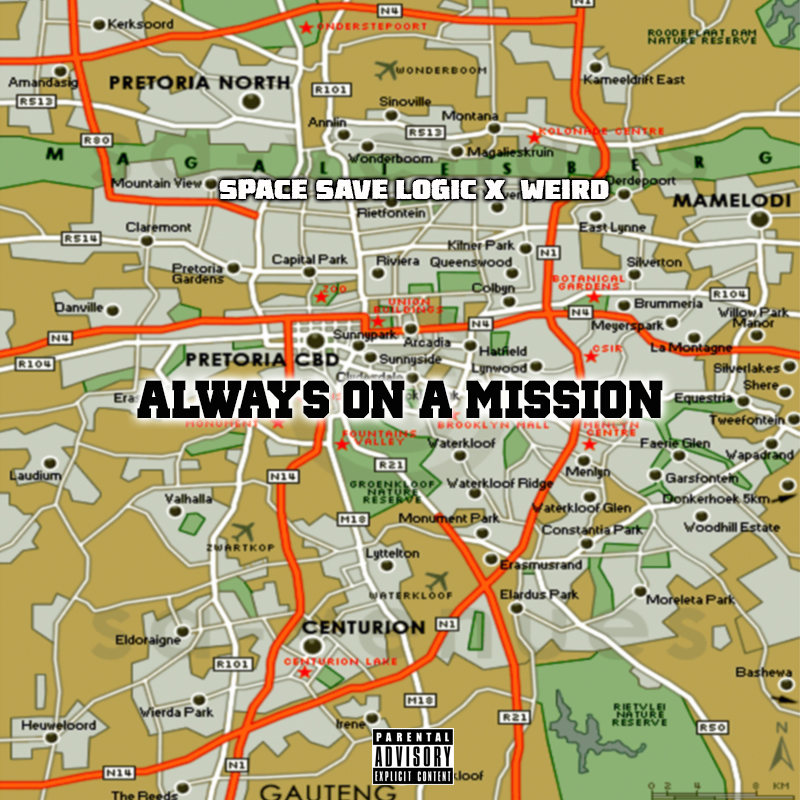 Listen To Space Save Logic & WeiRD's New 'Always On A Mission' EP Always On A Mission Cover