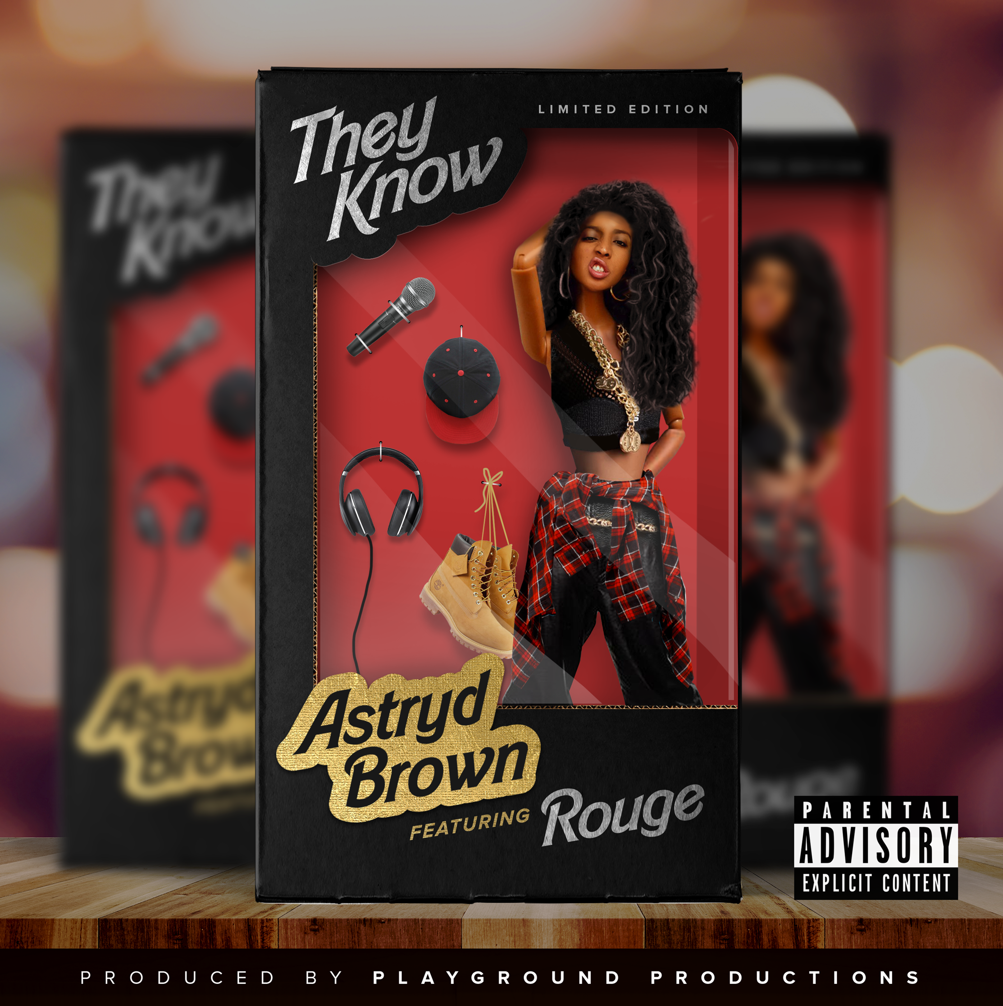 Listen to Astryd Brown's 'They Know' Debut single Ft. Rouge Astryd Brown Feat Rouge THEY KNOW Artwork