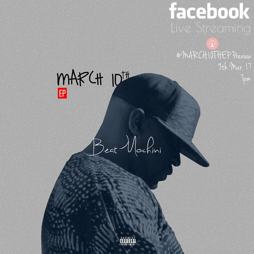 Beatmochini to Host Online Listening Session Tonight + EP Release on 10th March Beatmochini Live Listening Session on FB 7PM Tonight
