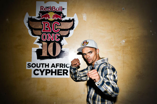 B-boy Benny takes Red Bull BC One South Africa cypher! Benny Portrait