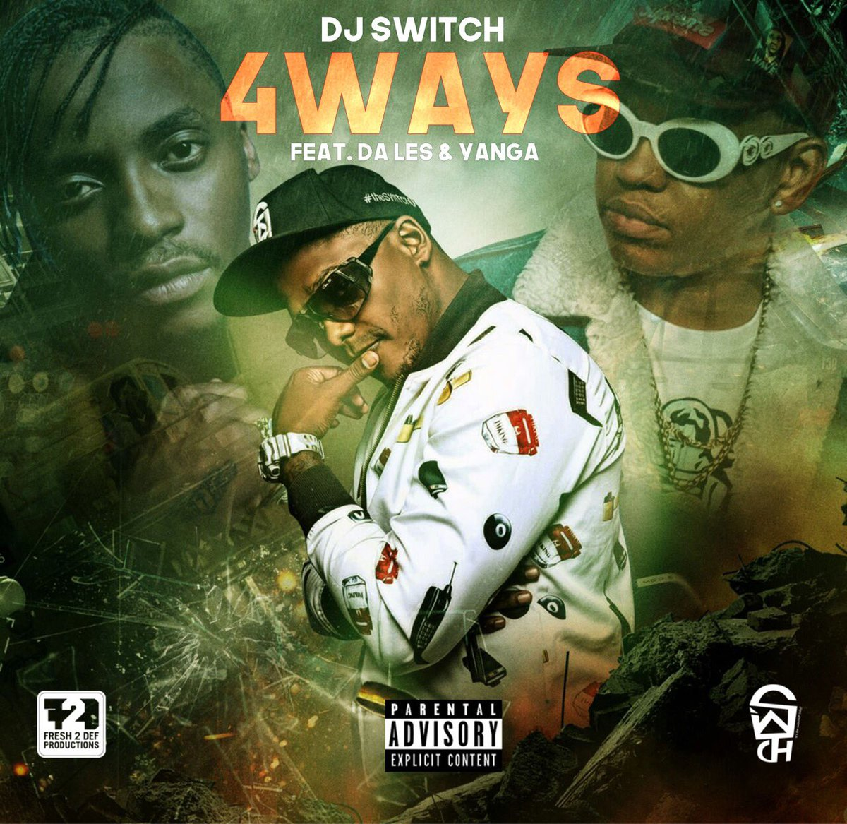 Listen to DJ Switch's New '4 Ways' Joint Ft. Da L.E.S & Yanga C4stPI7WIAIDssj