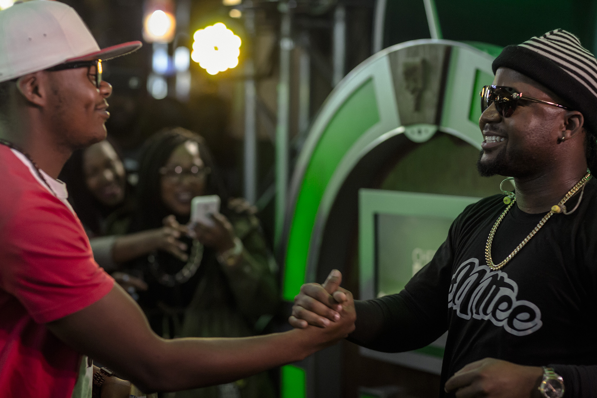 Watch Cassper Nyovest Surprise A Fan At The #AmstelAmplifeid Jukebox Experience CK0A9201