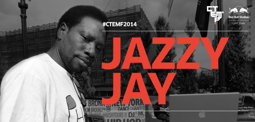 Cape Town Electronic Music festival with a hip hop twist CTE 131212 artist announcement jazzy jay 01 01