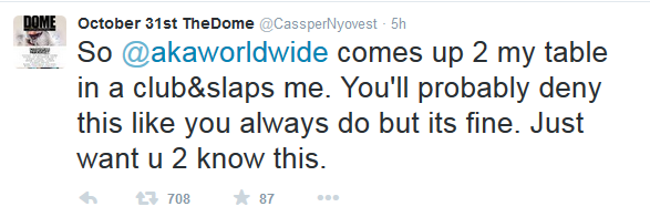 Cassper Is In London Taking Shots At AKA: Listen To His Freestyle Cass1