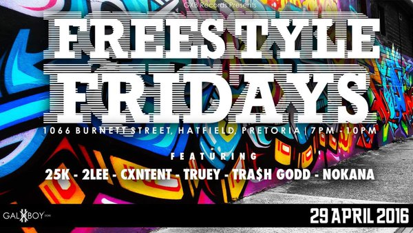GXB Records Present The 4th Edition Of Their Freestyle Fridays CgZQX fWIAAu8br