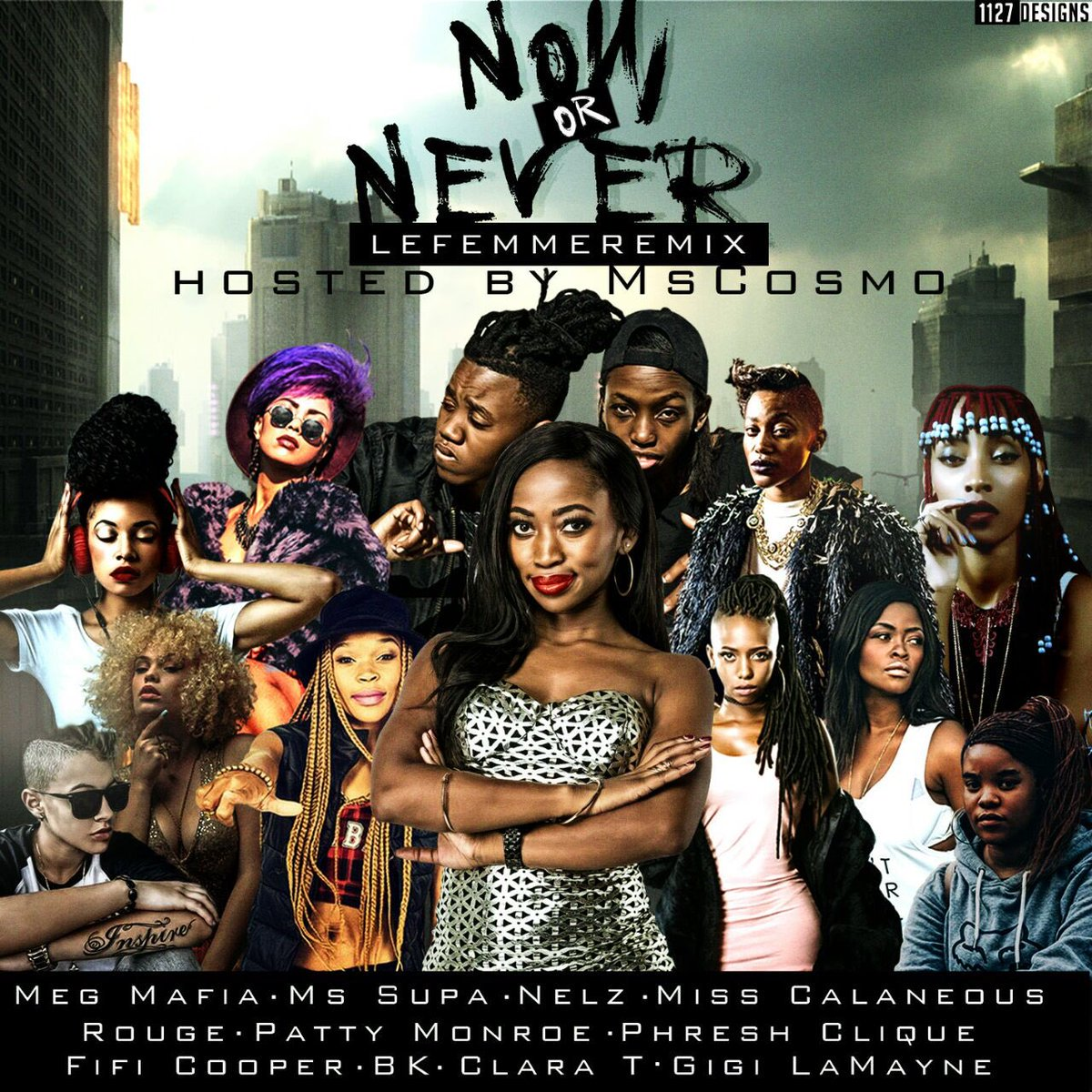Listen To DJ Switch & MsCosmo's 'Now Or Never' #LeFemmeRemix Cpa3fjFWgAAtNto 1