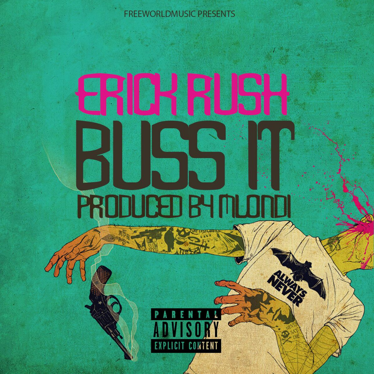 Erick Rush Dropping New 'Buss It' Joint This Friday Cqmly GWEAAQTJ1