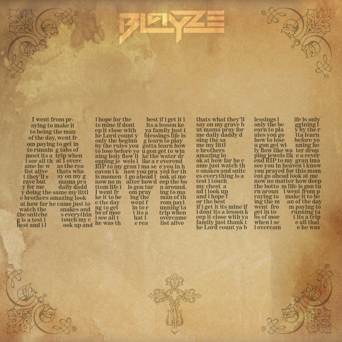 Blayze Drops New 'Amen' Single [Listen] DHQXqvhXkAAMabz