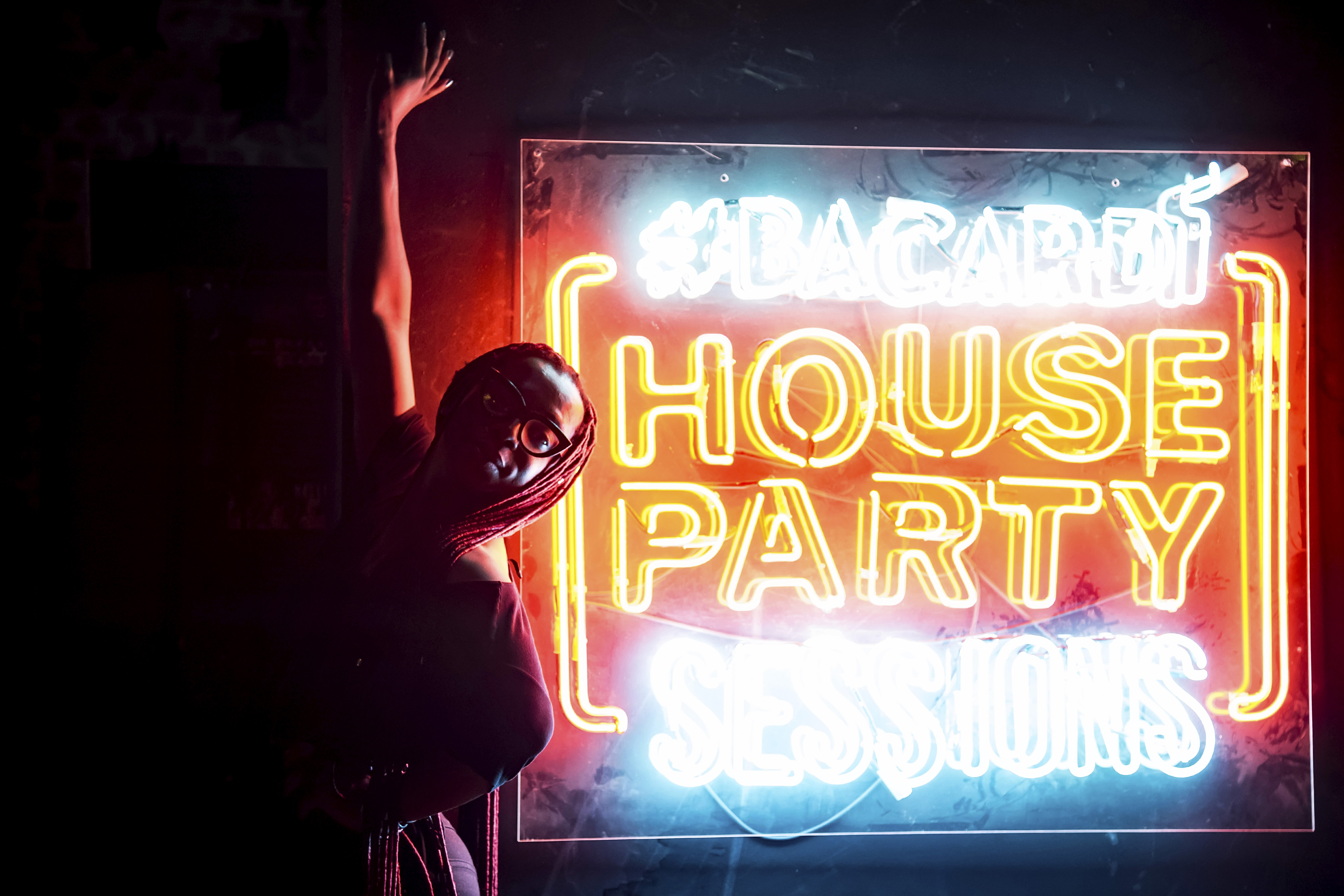 Here's What Happened At The Bacardi House Party Sessions with DJ Shimza DJ Olwetu