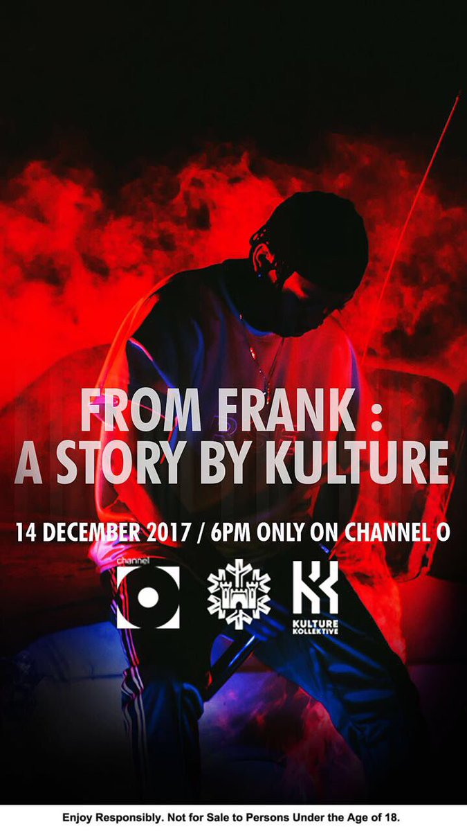 'From Frank : A Story By Kulture' Set To Premiere On Channel O [Watch] DQ1MqogW0AAETfw