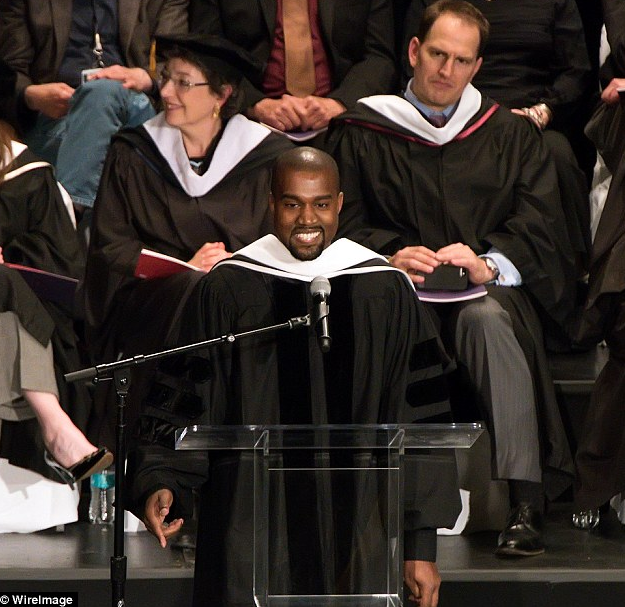 Kanye West Awarded With Honorary Doctorate Dr Kanye West
