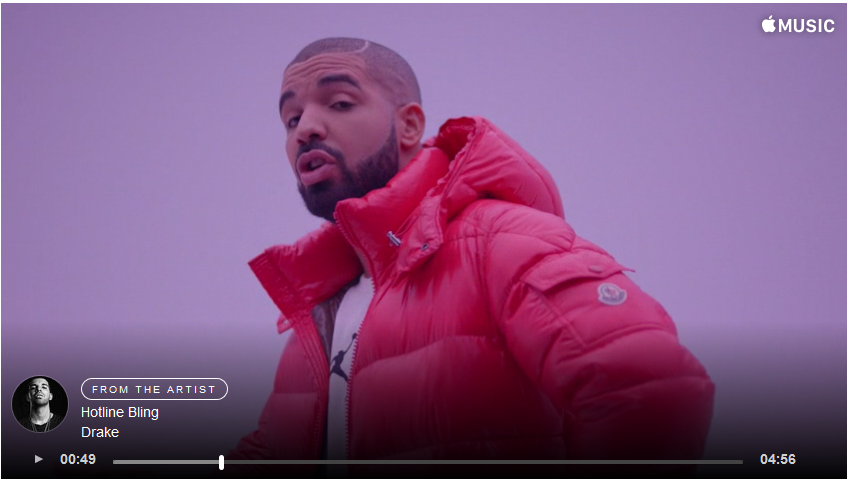 Watch Drake's Brand New 'Hotline Bling' Music Video Drizzy
