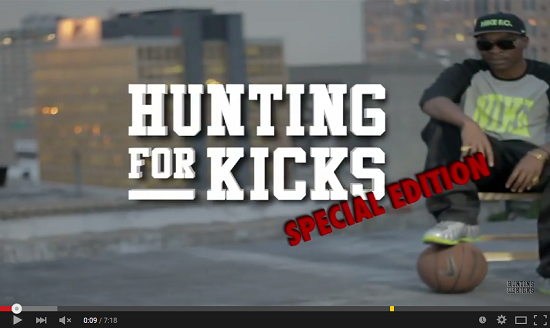 Hunting For Kicks Drop An Episode In Collaboration With Sneaker Exchange HFK