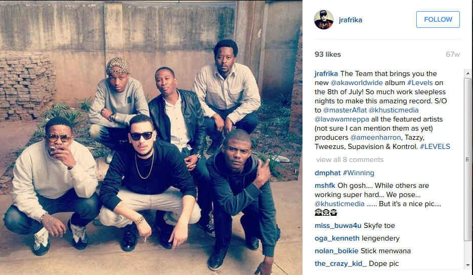 JR Addresses Accusation That He Ghostwrote 'Congratulate' For AKA JRa