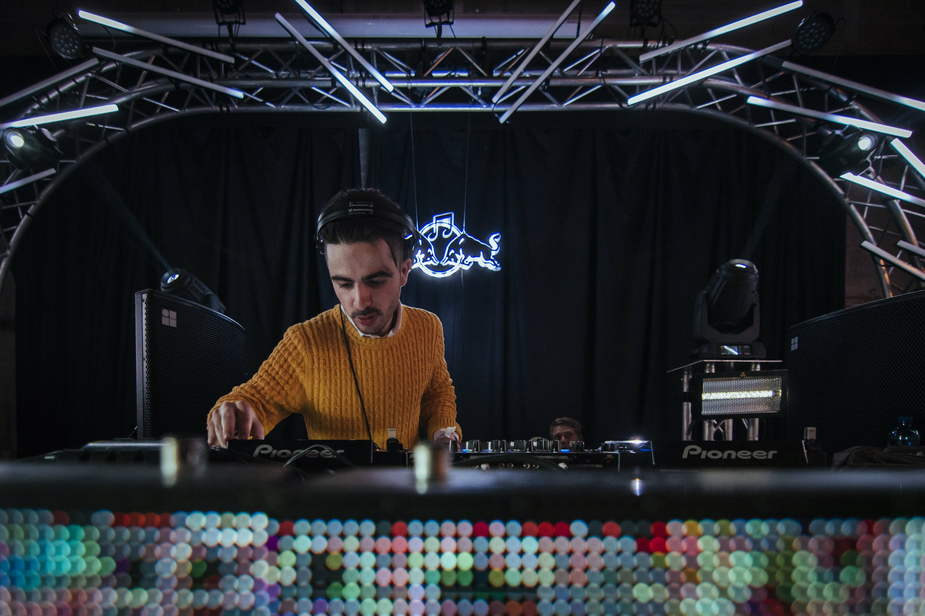 Red Bull Music Academy Presents CTEMF Auditorium Stage Jullian Gomes performs at 1Fox during the Red Bull Music Academy Weekender in 2016