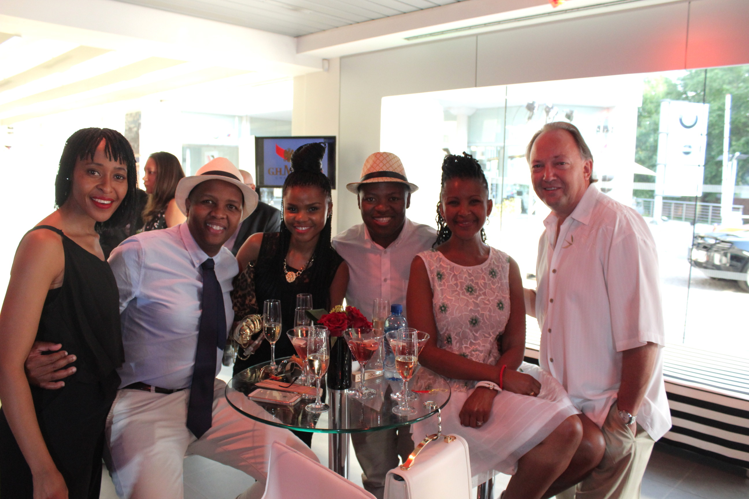 McLaren brings out the super rich and famous in Jozi KGH 22