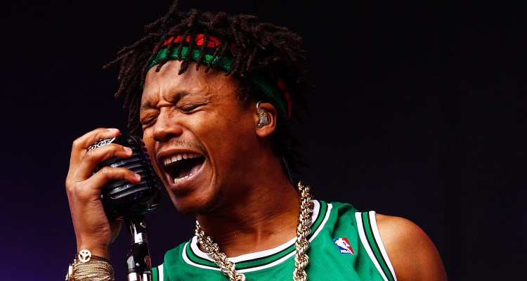 Listen to Lupe Fiasco's New 'Kneelin' On Needles' Banger Lupe Fiasco Brendon Thorne Stringer Getty