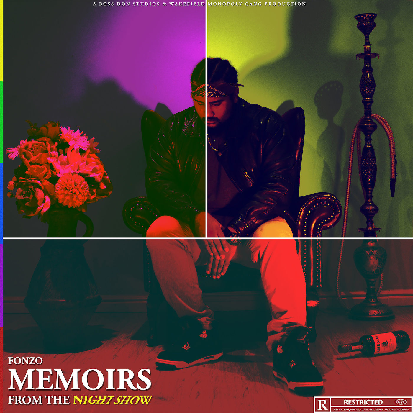 FonZo Drops New 'Memoirs From The Night Show' project [Listen] MFTNS FRONT COVER