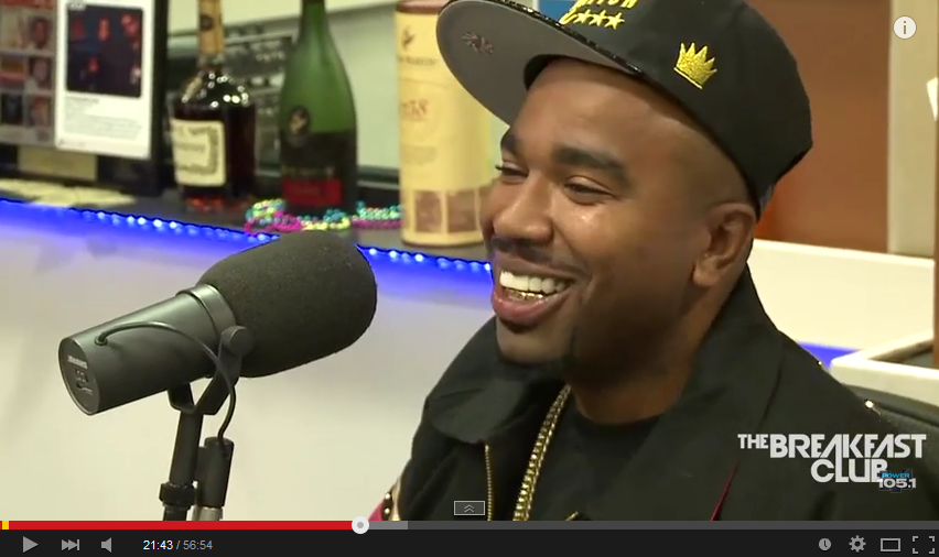N.O.R.E Stops By The Breakfast Club NORE