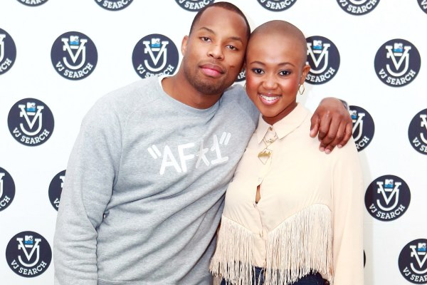 2013 MTV VJ Search – Auditions in Cape Town this Saturday! Nomuzi and Sizwe at banner wall1