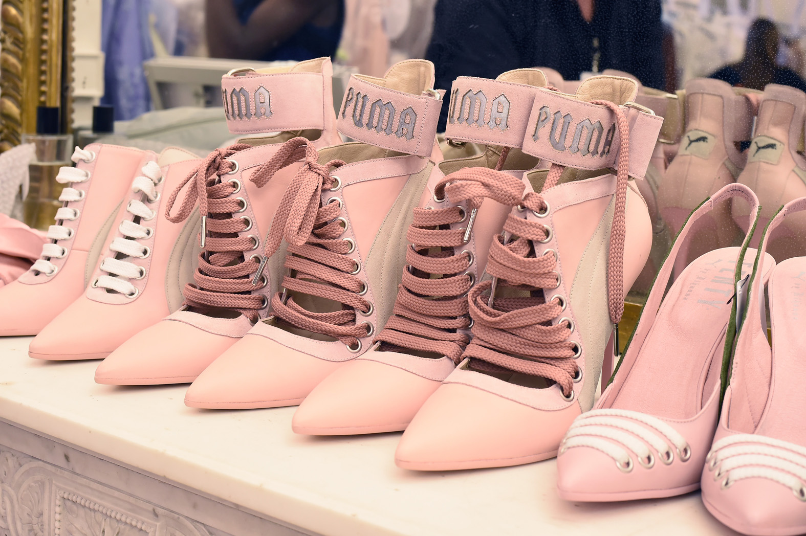 Rihanna And PUMA Reveal Spring Summer '17 First Look In Paris [Watch] PUMA FENTY Rihanna Collection 4 lo