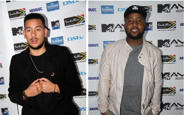 AKA Allegedly Slapped Cassper At a Club Last Night Picture