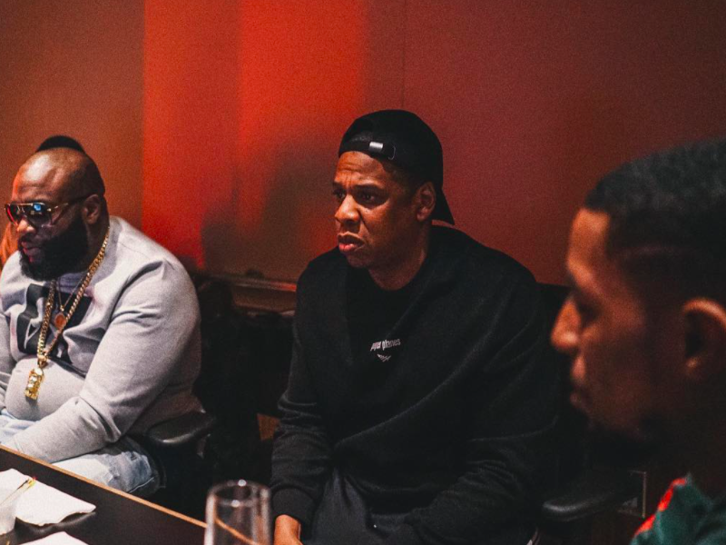 Checkout Some Evidence That Reveal JAY Z is Really About to Drop a New Album Soon [Watch] Rick Ross Jay Z Rockie Fresh