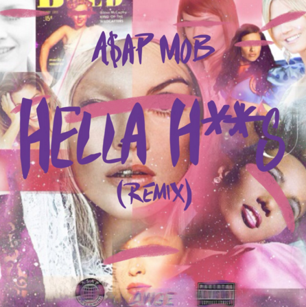 A$AP Mob Drop 'Hella Hoes' Remix Ft. Danny Brown & A$ton Matthews Screen Shot 2016 02 24 at 7