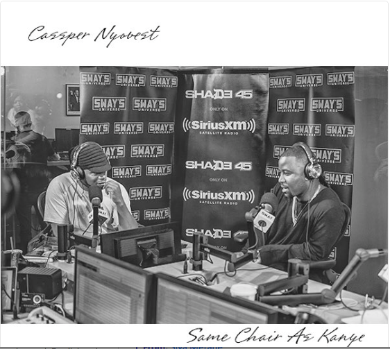 Cassper Lashes Out On New 'Same Chair As Kanye' Joint [Listen] Screen Shot 2016 06 30 at 8 26 32 AM