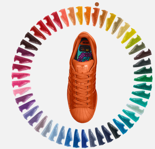 Watch Exclusive Pharrell x adidas Supercolor collaboration Film Superc