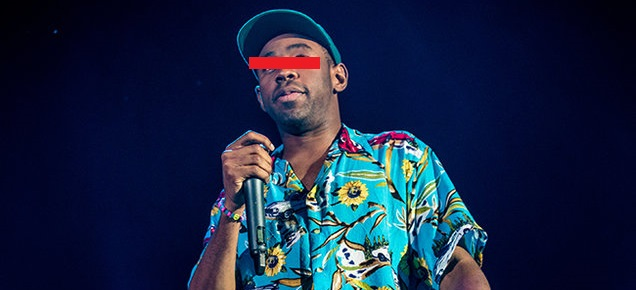 Watch Tyler, The Creator and A$AP Rocky Remix Kanye's 'What The F*ck Right Now' Tyler The Creator Champions Square 2015 billboard 650