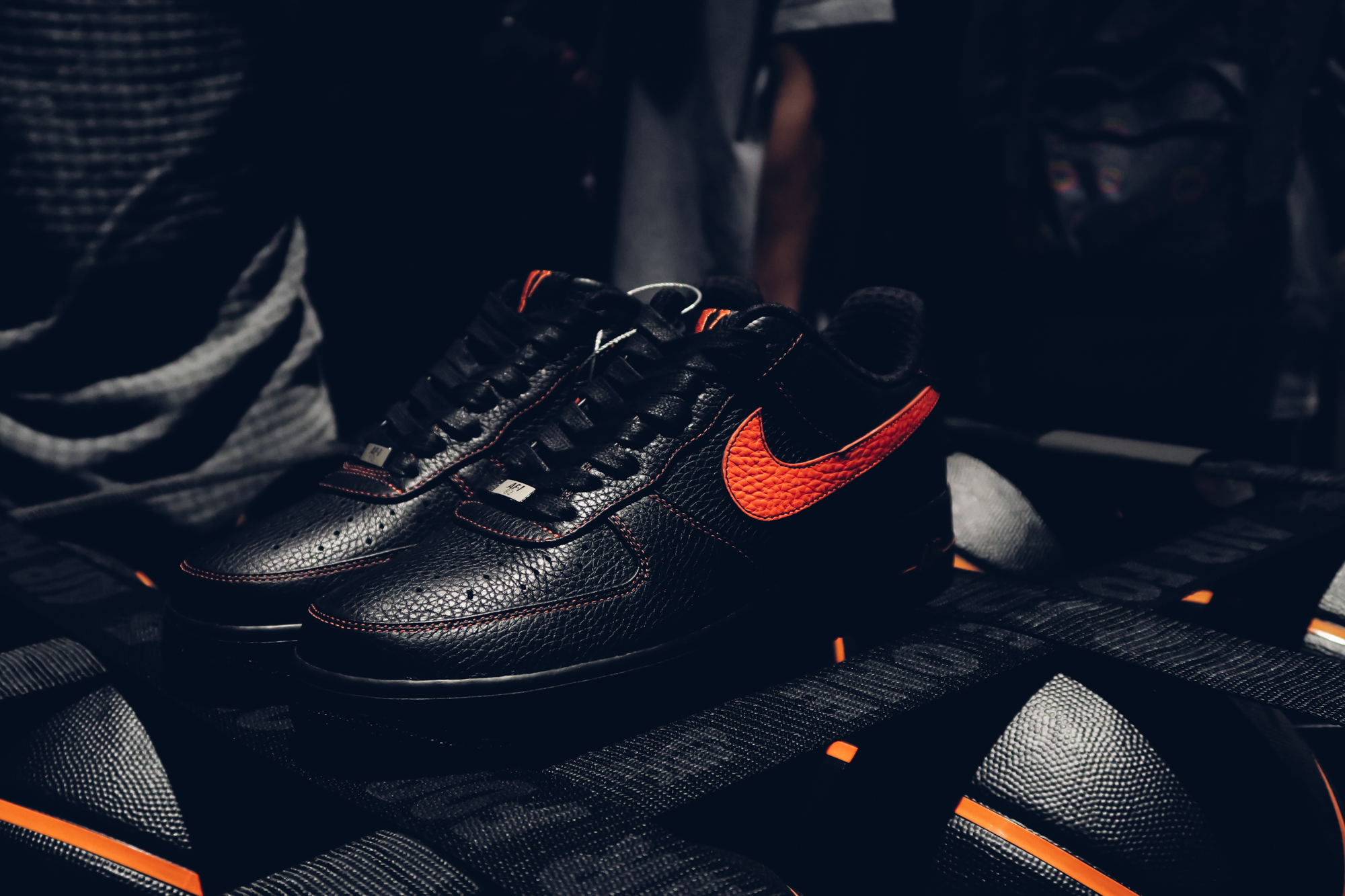 fbbacde44788 A AP s VLone x Nike Air Force 1 Low Powerful Collab Is About to Drop ...