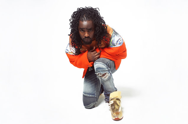 Listen To Wale's New 'Pull Up Hop Out' Freestyle Wale press photo kneel 2016 billboard 1548