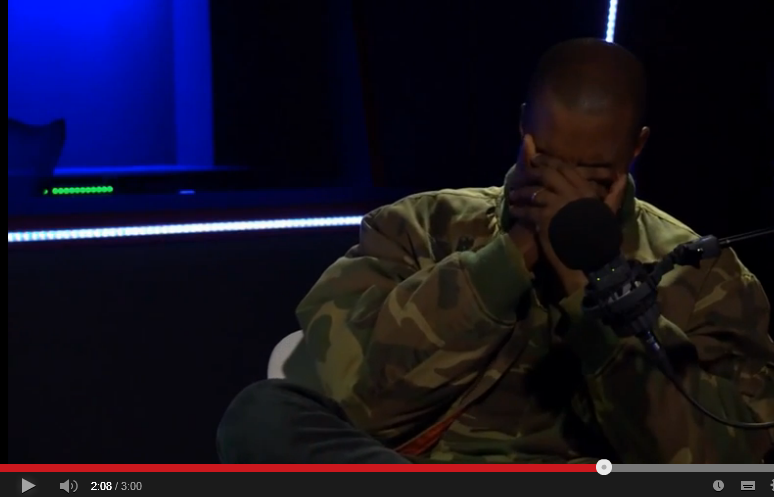 Yeezy Is Not A Robot After All – Watch Video of Him Criying In Recent Interview Yeezy