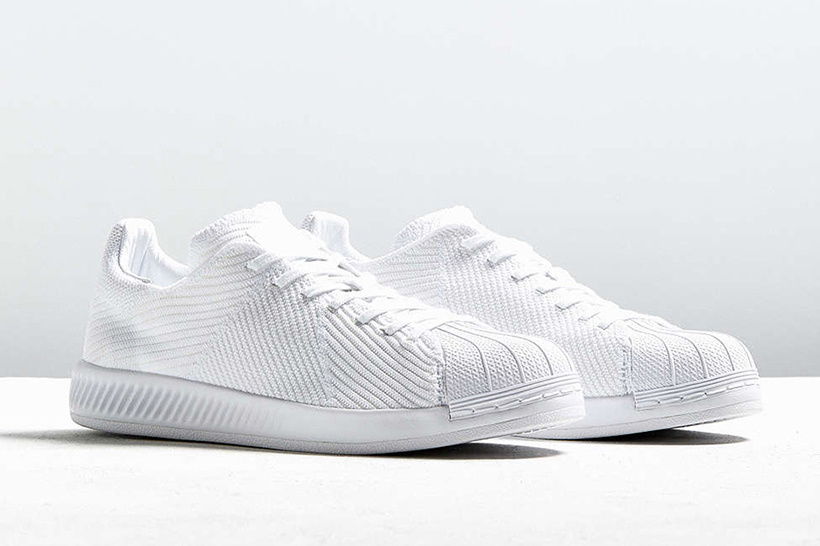 "premium selection 0326c bc929 adidas Originals Superstar BOUNCE ""Triple White""  SneakPeak  adidas  originals superstar boost triple"