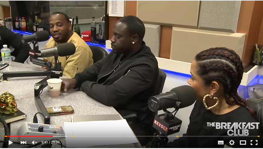 Watch Akon & Young Greatness' Interview At The Breakfast Club akon