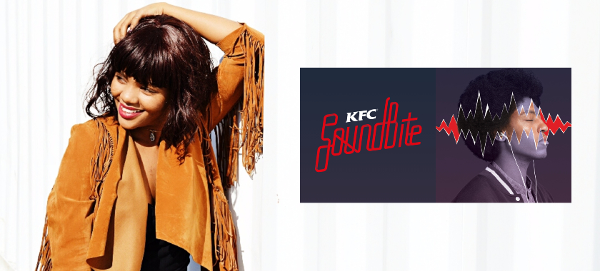 Angie Santana on KFC Soundbite [HYPE Co-sign] angie sound bite