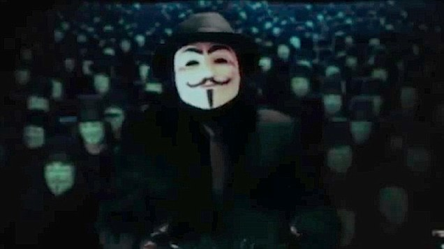 Anonymous Deny Responsibility For Creepy Kanye Video anonymous