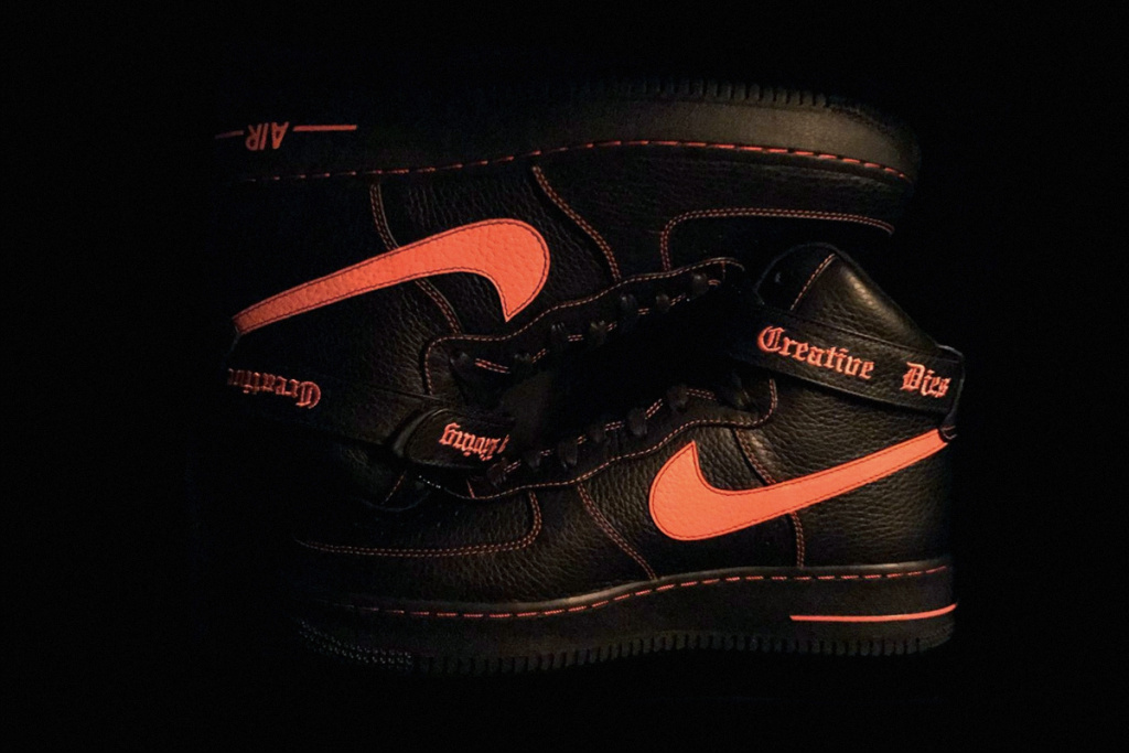 Photobooth Party In Collaboration With Dickies asap bari unveil vlone nike air force 1 high 1