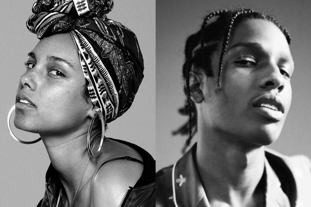 Alicia Keys Drops New 'Blended Family' Song Ft. A$AP Rocky [Listen] asap rocky alicia keys blended family