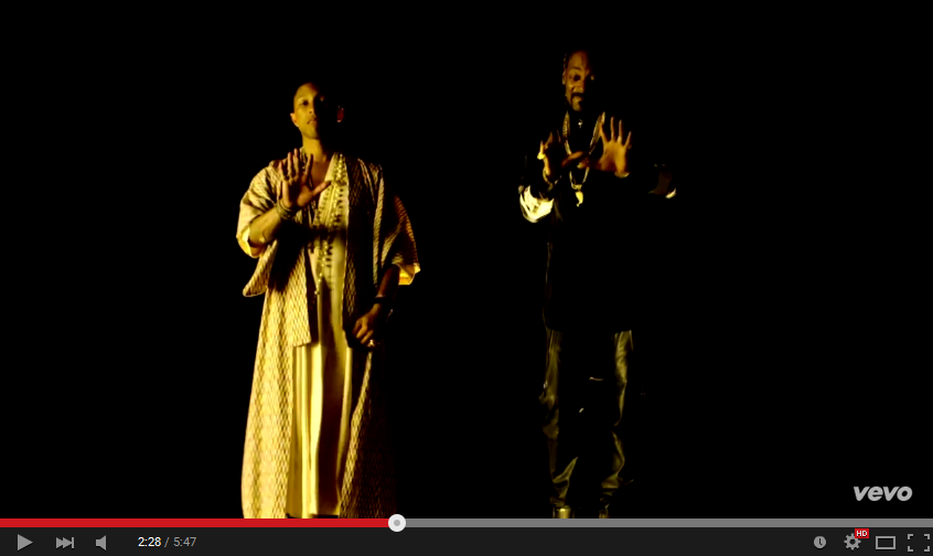 Snoop Dogg Drops 'California Roll' Video Ft Stevie Wonder and Pharrell cali2