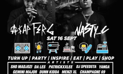 A$AP FERG & NASTY C To Headline First Annual CAPSULE FEST capsule poster 400x240