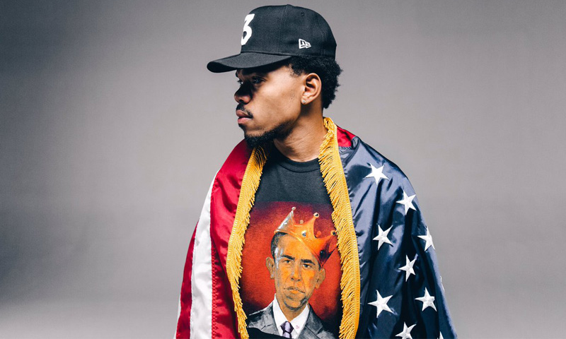 Listen to Chance The Rapper & The Social Experiment's New 'Gimmie A Call' Song Ft. Taylor Bennett chance the rapper thank you obama clothing 0